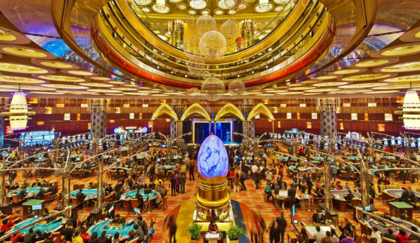 Casino at Macao