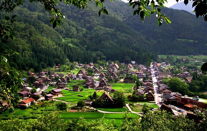 Shirakawago Observation Deck