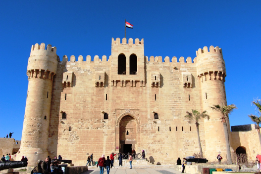Citadel of Qaitbay  sight_id:9161