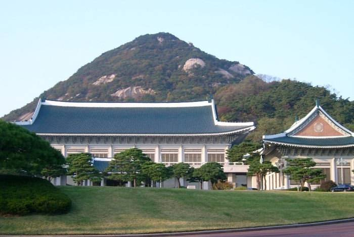 The Cheongwadae(Blue House)