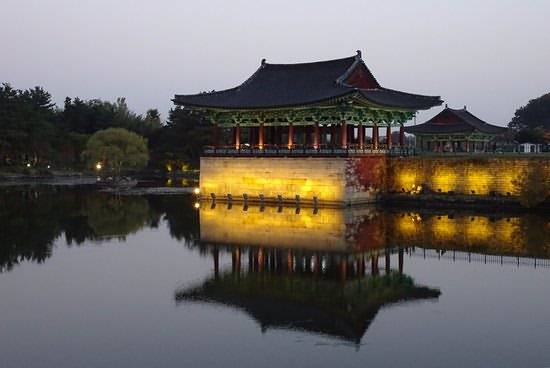 Gyeongju Donggung Palace and Wolji Pond