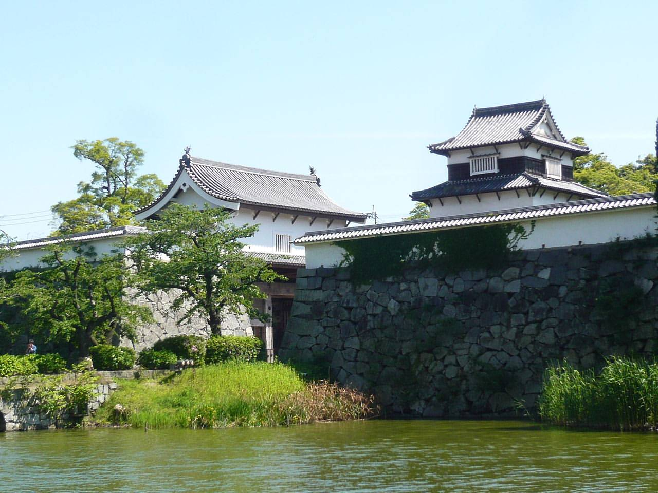 The ruins of Fukuoka Castle