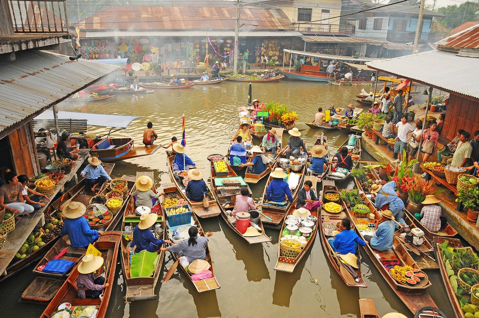 Damnoen Saduak Floating Market  sight_id:4174
