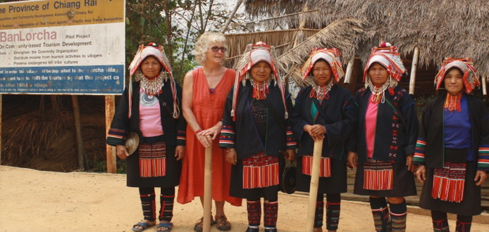 Akha hill tribe villages