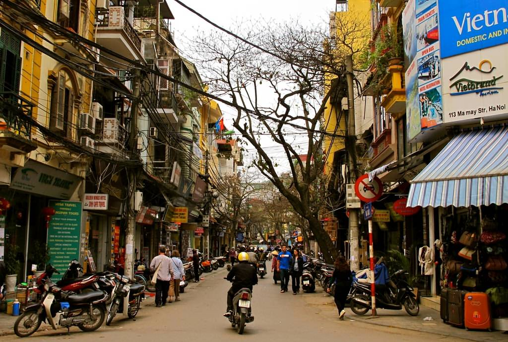 Hanoi Old Quarter  sight_id:4533