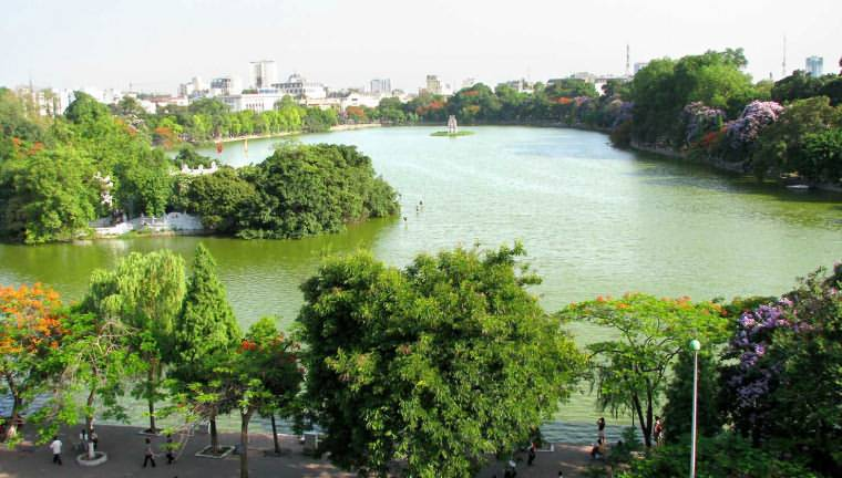 Hoan Kiem Lake  sight_id:4531
