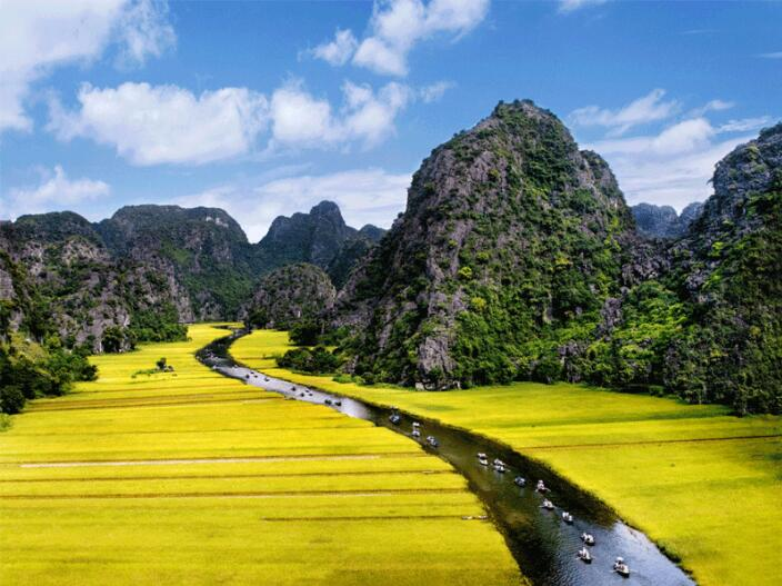 10 Days Hanoi-Ninh Binh-Halong Bay-Hue-Danang-Hoian-Ho Chi Minh Vietnam Tour