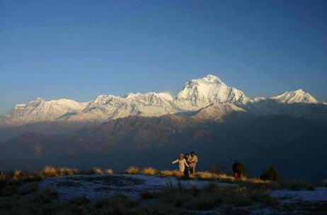 9 Days Nepal Kathmandu Chitwan Pokhara from China Tibet Zhangmu Tour