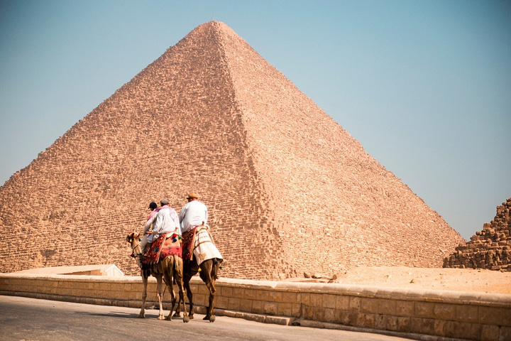 Giza Pyramids with Camel Riding